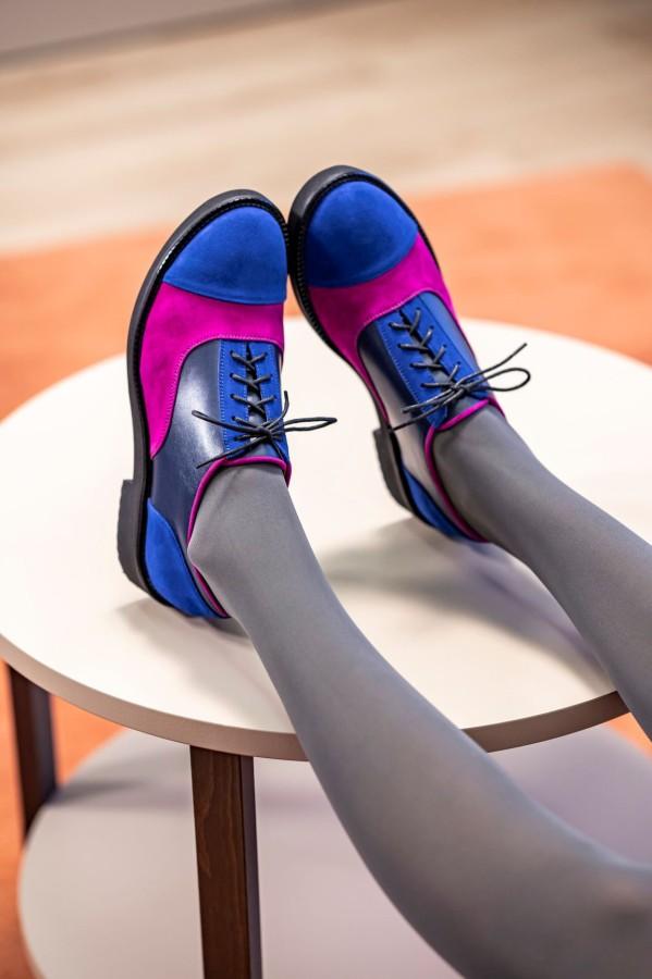 """Oxford stiliaus bateliai """"Mėlynas sapnas"""""""
