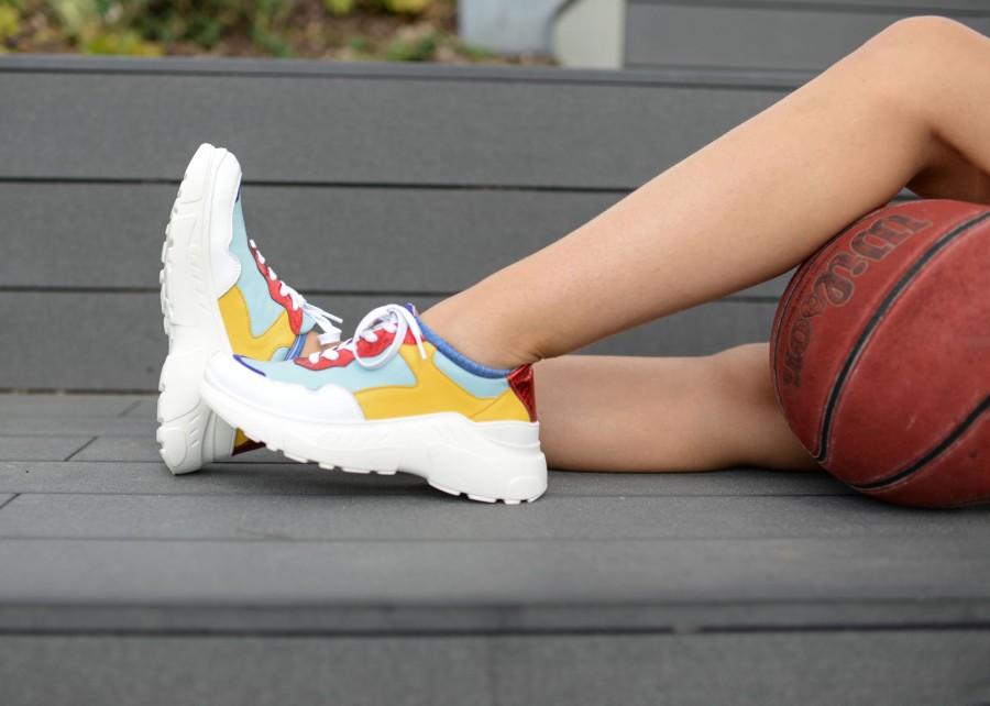 """Sportinio stiliaus bateliai """"Spalvų fiesta"""""""