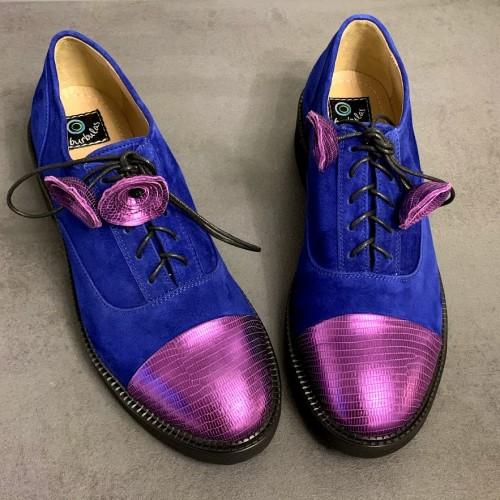 """Oxford stiliaus bateliai """"Mėlynoji pasaka"""""""