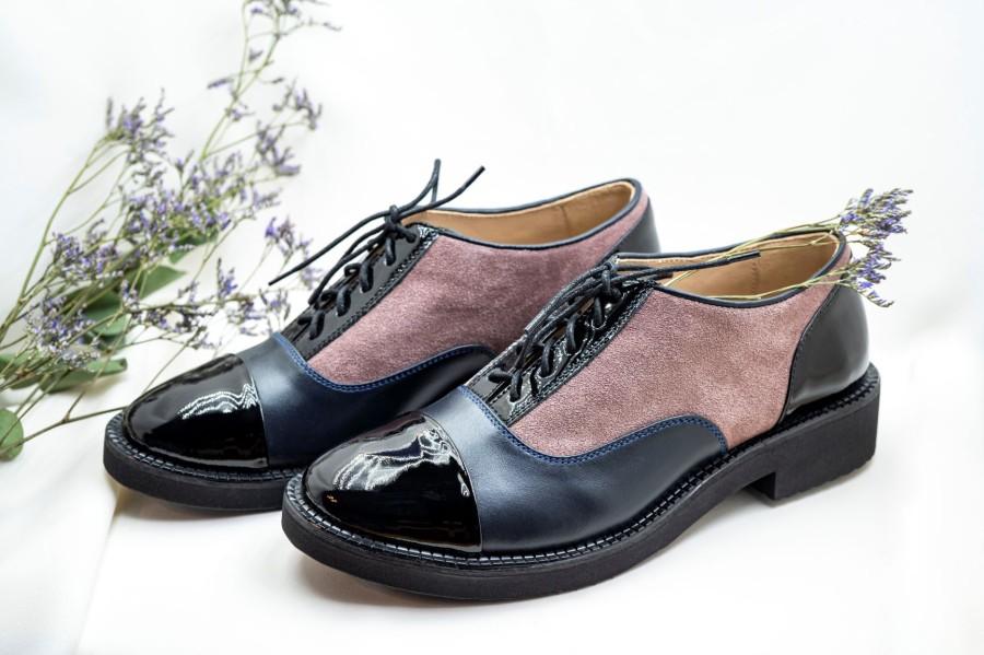 """Oxford stiliaus bateliai """"Pelenų rožė"""""""