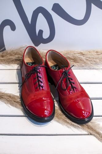 """Oxford stiliaus bateliai """"Red"""""""