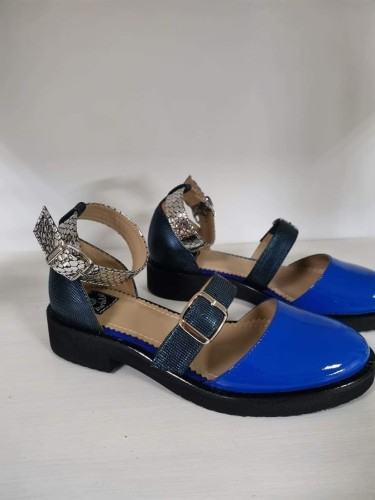 "Patogieji sandalai ""Mėlyna!"""